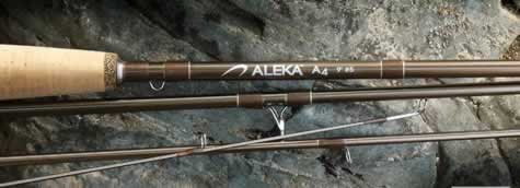 Aleka A4 Series Fly Rods