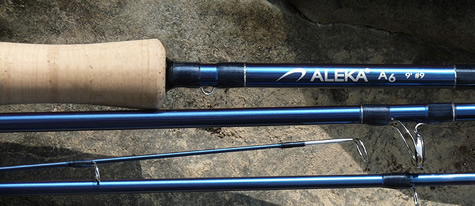 Aleka A6 Series Fly Rods