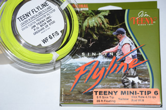Teeny Weight Forward Mini Tip Sinking Fly Lines
